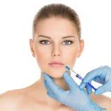 Женщина пластической хирургии Стоковое Изображение