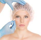 Женщина пластической хирургии Стоковое фото RF