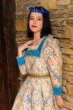 женщина платья средневековая Стоковое Фото