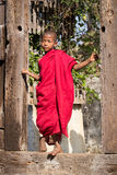 Женщина племени племени padaung портрета длинн-necked Озеро Inle, Мьянма, Бирма Стоковое Изображение RF