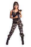 женщина ратника Стоковая Фотография RF