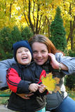женщина ребенка Стоковое фото RF
