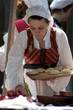 женщина ренессанса faire Стоковая Фотография RF