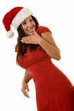 женщина рождества одежды Стоковая Фотография