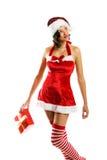 женщина рождества сь Стоковые Фотографии RF