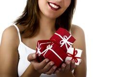 женщина рождества Стоковая Фотография RF