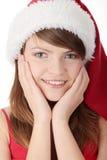 женщина рождества стоковые изображения rf