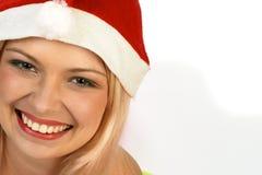 женщина рождества Стоковые Изображения