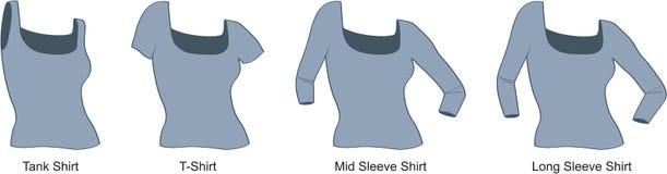 женщина рубашки s Стоковая Фотография RF