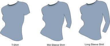 женщина рубашки s Стоковые Изображения RF