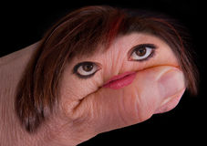 женщина руки Стоковое Изображение RF