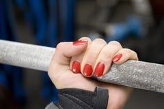 женщина руки Стоковая Фотография