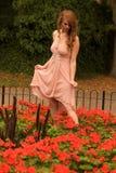 женщина сада Стоковые Фото