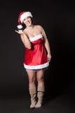 Женщина Санта Стоковые Фотографии RF