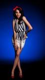 женщина сбора винограда платья ретро Стоковая Фотография RF