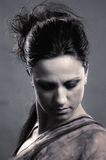женщина сбора винограда типа портрета сексуальная Стоковая Фотография