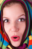 женщина свитера Стоковое Изображение RF