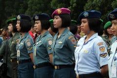 Женщина-солдаты Стоковые Изображения RF