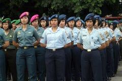 Женщина-солдаты Стоковая Фотография RF