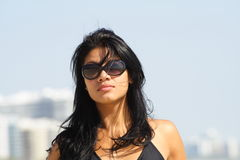 женщина солнечных очков Стоковое Изображение RF