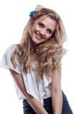 женщина состава стиля причёсок профессиональная Стоковые Фото
