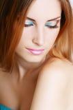 Женщина состава Стоковые Фотографии RF