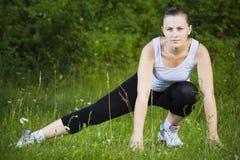 женщина спорта стоковая фотография