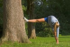 женщина спорта Стоковое Фото