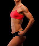 женщина спортсмена Стоковая Фотография RF