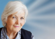 женщина старшия портрета Стоковые Фото