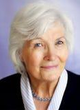женщина старшия портрета Стоковая Фотография
