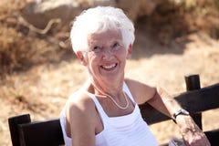 женщина старшия портрета Стоковые Фотографии RF