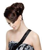 женщина стиля причёсок способа самомоднейшая Стоковые Фотографии RF