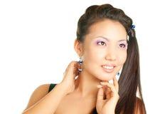 женщина стиля причёсок Стоковые Изображения RF