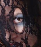 женщина стороны Стоковая Фотография RF