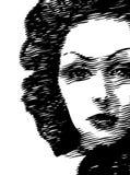 женщина стороны Стоковое фото RF