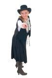 женщина страны западная Стоковое фото RF