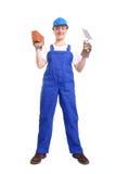 женщина строителя Стоковая Фотография RF