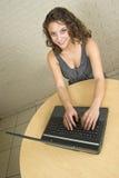 женщина студента красивейшего коллежа профессиональная Стоковые Изображения RF