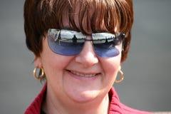 женщина счастливая Стоковое Изображение RF