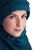Женщина с вуалью Стоковые Изображения RF
