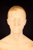 Женщина с лицевым щитком гермошлема Стоковое фото RF