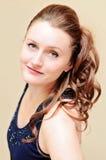 Женщина с официально стилем причёсок Стоковое фото RF