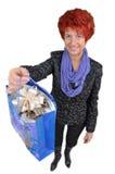 Женщина с покупками Стоковое Фото