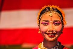 Женщина с прошивками в Асоме Стоковая Фотография RF