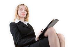 Женщина с силой стоковое изображение rf