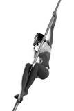 Женщина танца поляка Стоковые Фото