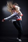 женщина танцора балета самомоднейшая Стоковые Изображения RF