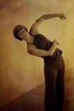 женщина танцора стоковое изображение rf