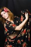 женщина танцы Стоковые Изображения RF